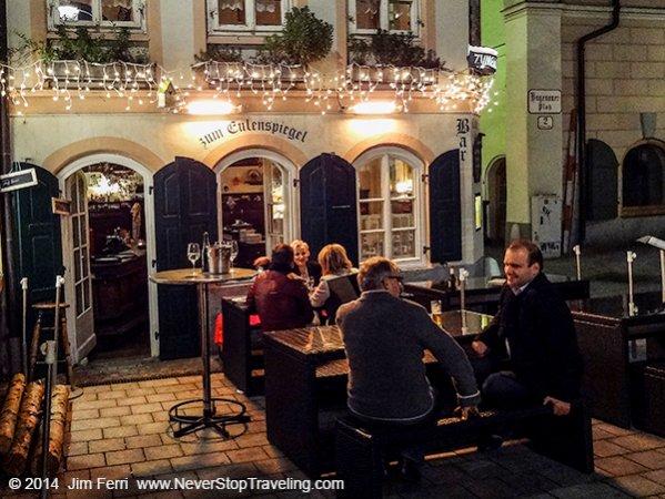 Zum Eulenspiege, Hagenauerplatz, Salzburg