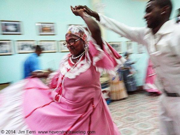 -Cuba - Tumba Francesa dancers
