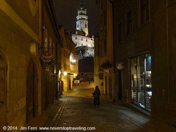 Czech - Cesky Krumlov - night-DSC02719---