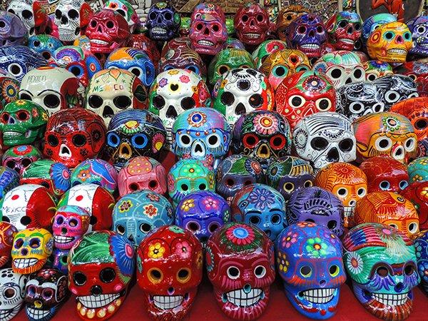Skulls, Chichen Itza, Mexico