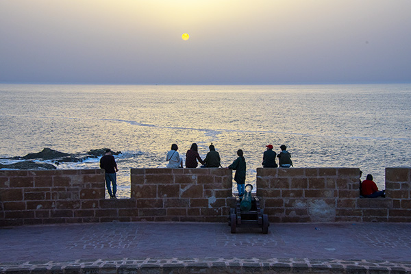 Foto Friday - sunset at Essaouira Morocco