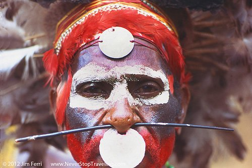 Foto Friday - Tribesman, Papua New Guinea