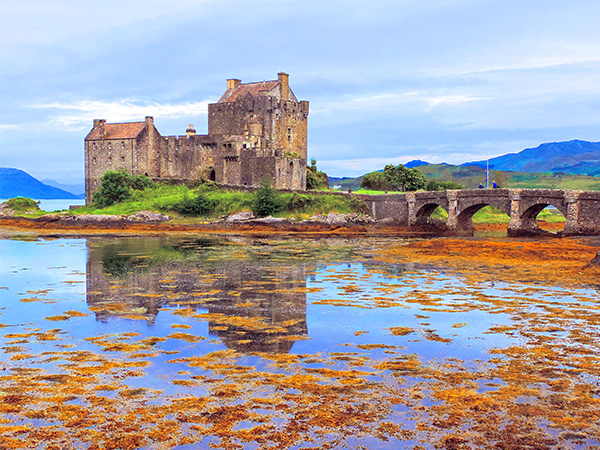 Foto Friday - an ancient castle in Scotland
