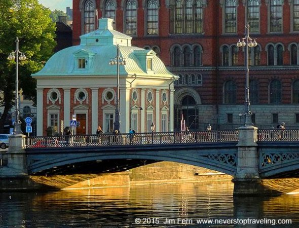 Sweden - Stockholm, bridge