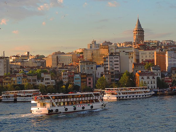 Foto Friday - ferries, Karaköy, Istanbul, Turkey