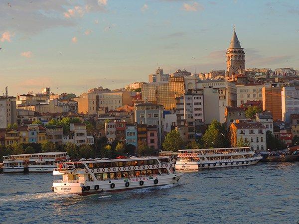 ferries, Karaköy, Istanbul, Turkey