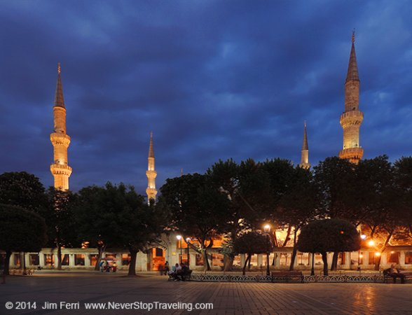 Foto Friday - Blue Mosque, Istanbul, Turkey