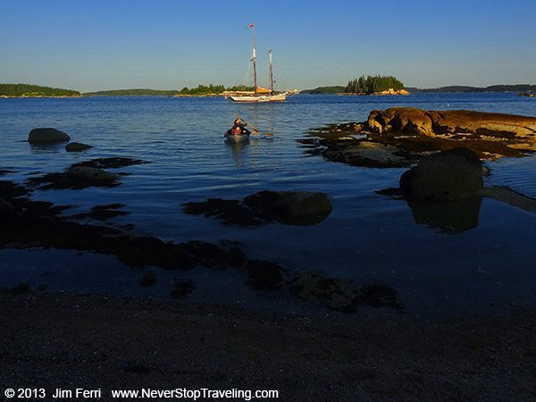-USA-Maine-late afternoon-Two Dory Island-DSC01420---B