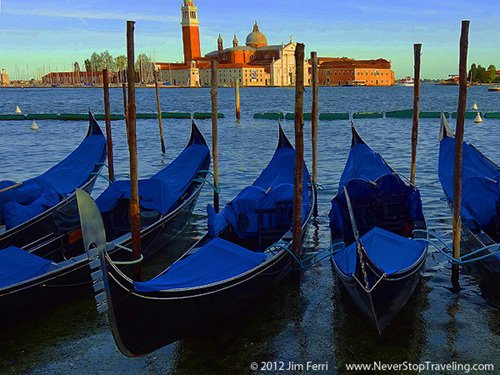 Gondolas, Venice, Itlay