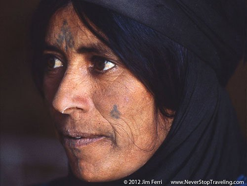 Foto Friday - Bedouin woman at Qasr Amra, Jordan