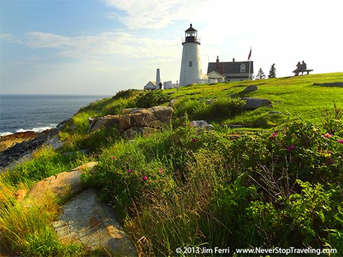 Pemaquid Point Light, Bristol, Maine, USA