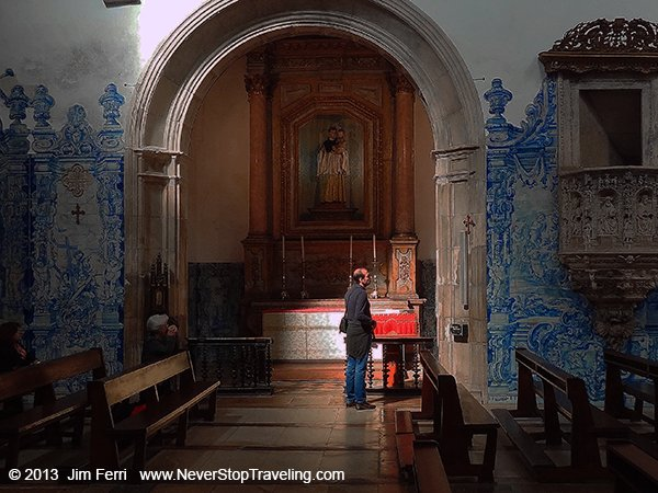 Santa Cruz Monastery, Coimbra, Portugal