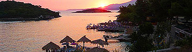 Albanian resort