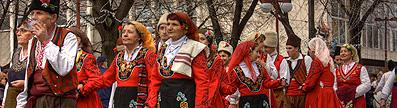 Bulgaria parade