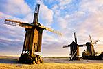 Windmills at Angla, Saaremaa - Ekke