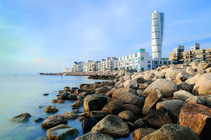 modern buidling on a bay top 10 sweden