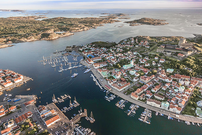aerial view of a town top 10 sweden