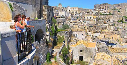 Italy's Cave City in Matera