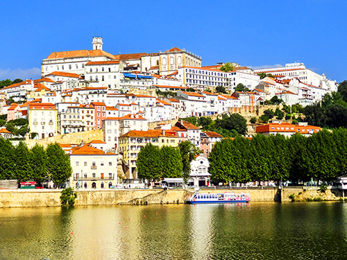 view of a town in Portugal