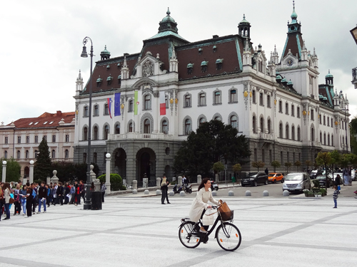 Congress Square and the University of Ljubljana