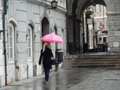 Ljubljana's old town Ljubljana