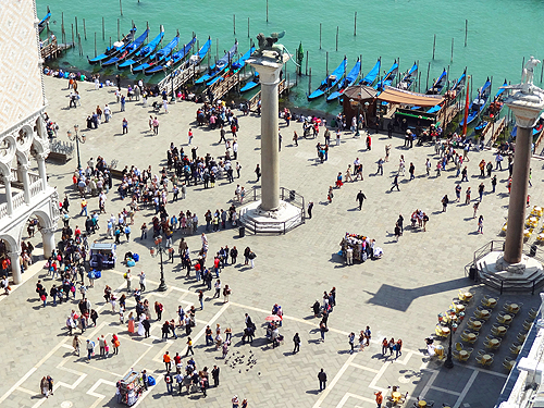 The Piazzetta and the lagoon St. Mark's Square