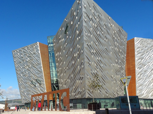 The Titanic Belfast Museum