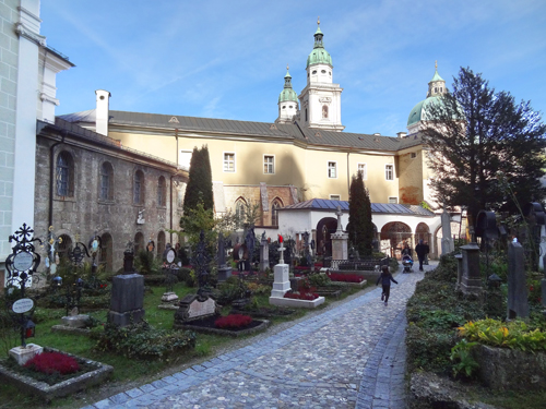 Cemetery near St. Peter Stiftskeller