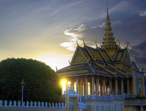 King's Palace, Phnom Penh / photo: Ethan Crowley