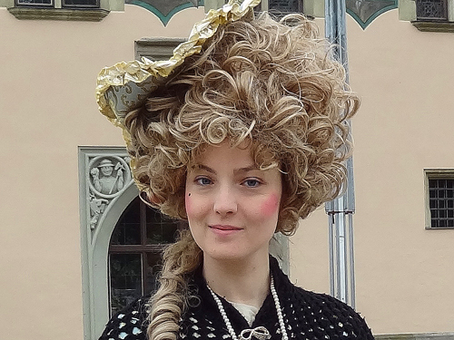 Passau tour guide in period costume