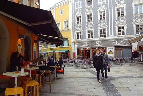 The old city in Passau