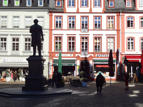 Koblenz town square