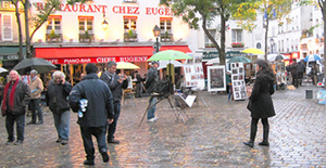 Montmartre, Paris and the Crepe King