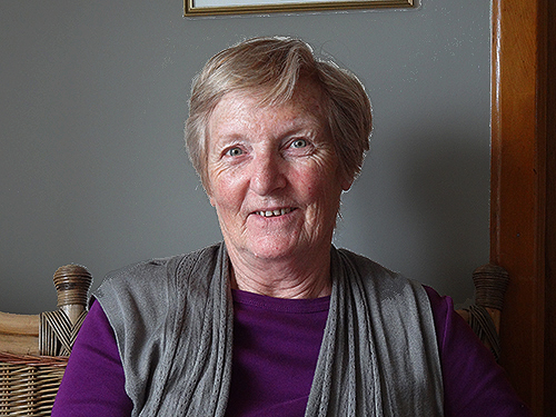 Bridie Conneely of the Beach View House B&B Aran Islands