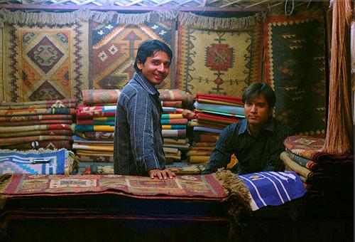 208433-carpet store, in Dilli Haat-Yiqun Ding