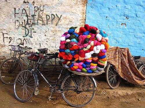 429073-Wool seller's bicycle-Arti Sandhu