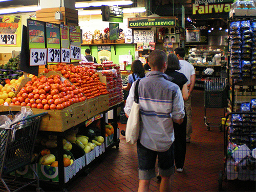 Fairway Supermarket, New York