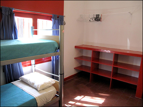bunkbeds in a room - ways to save money on a tight budget