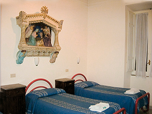 two beds in a monastery - Alternatives to airbnb