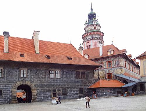 The Castle of Cesky Krumlov