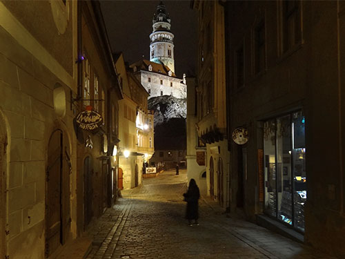 Cesky Krumlov and its castle