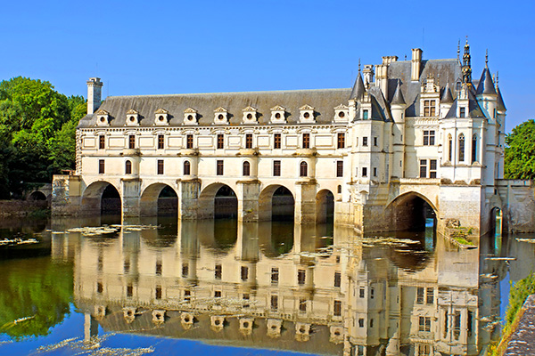 a chateaux in the Loire Valley
