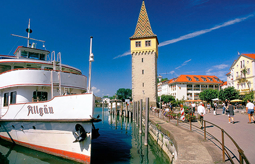 Lindau, Lake Constance / photo: Tourimus Baden Wurttemberg, Jim McDonald top 10 places in Germany
