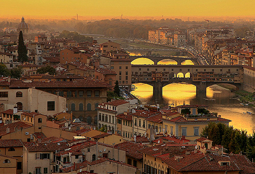 Florence At Sunset Photo Stevehdc