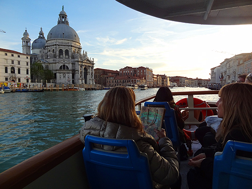 Vaporetto Line #2, Venice / photo: Jim Ferri