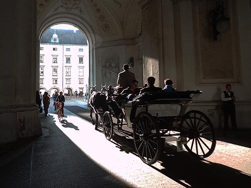 The Hofburg Palace, Vienna / photo: Jim Ferri