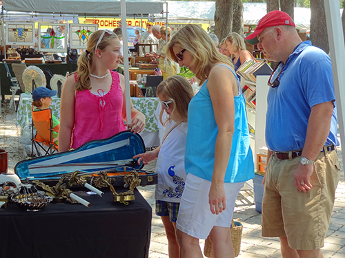 Antique show, St Simons Island