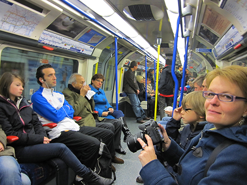 The London Underground / photo: Jim Ferri