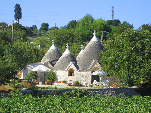 Trulli homes near Alberobello