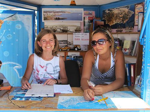 Tourist booth, Capo Santa Maria di Leuca